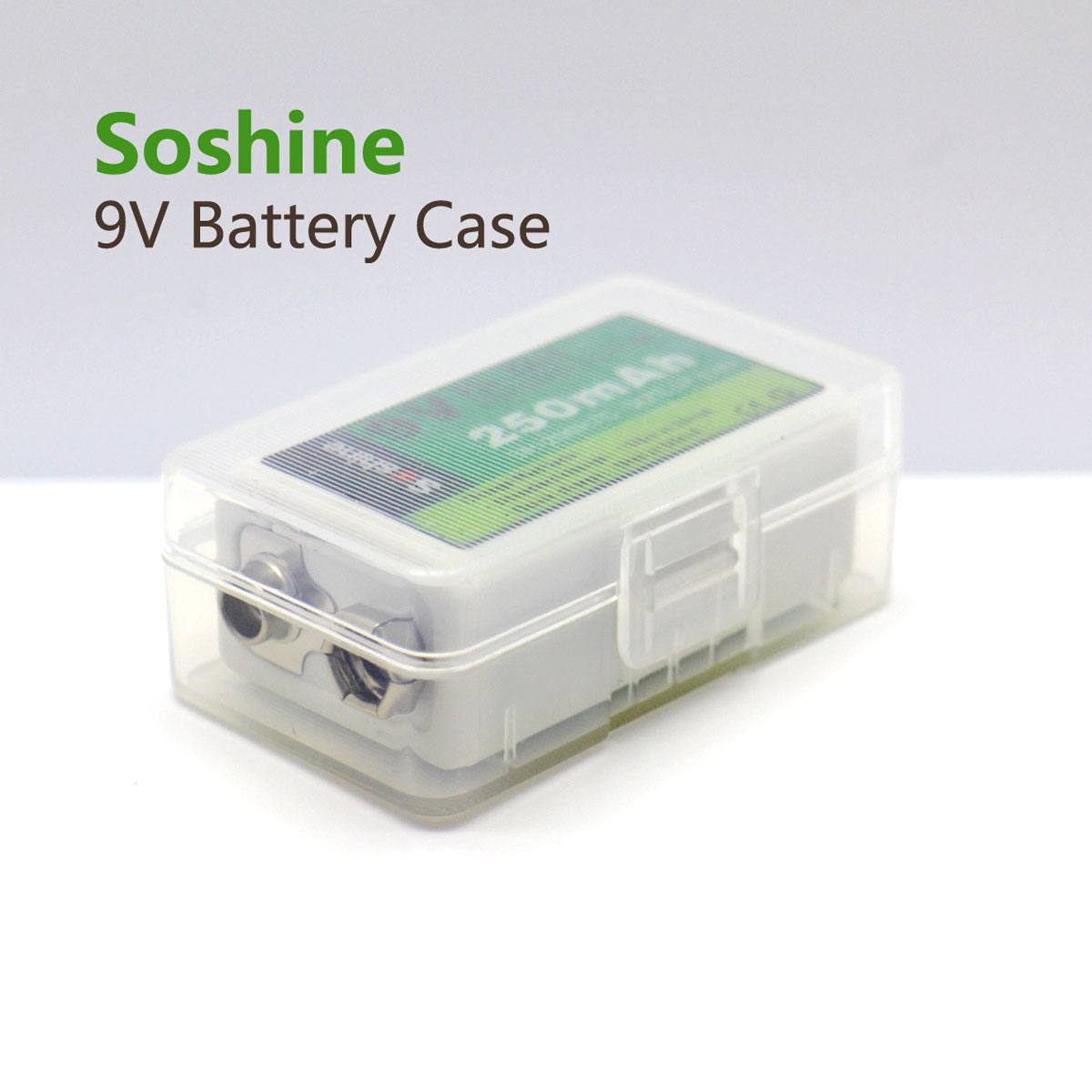 new product e8d34 8f4e3 Bulk Wholesale 9V Battery Storage Case - Soshine